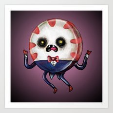 Peppermint Butler :: The Dark One Art Print