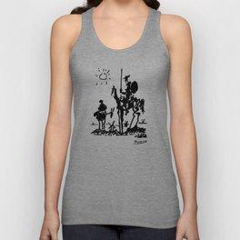 Pablo Picasso Don Quixote 1955 Artwork Shirt, Reproduction Unisex Tank Top