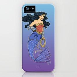 Wonder Mermaid iPhone Case