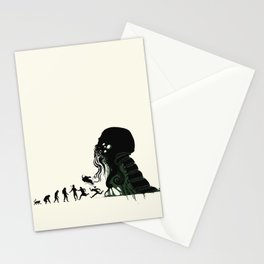 Lovecraftian Darwinism Stationery Cards