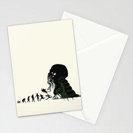 Lovecraftian Darwinism Stationery Cards