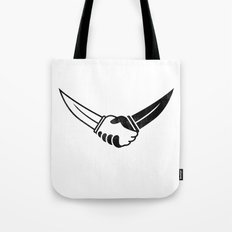 Trust No One Tote Bag