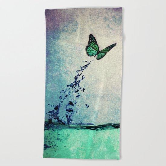 Waterfly Beach Towel