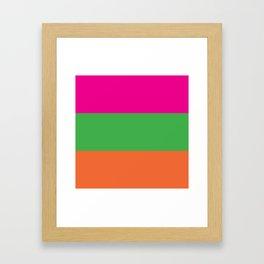 Rainbow Moon Framed Art Print