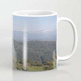 Distant Snow Topped Moutains from Cicekli Ula Coffee Mug