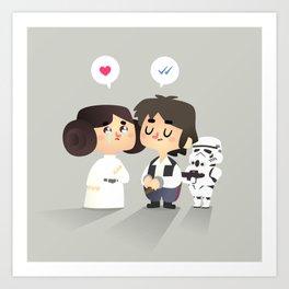 I love you, i know Art Print