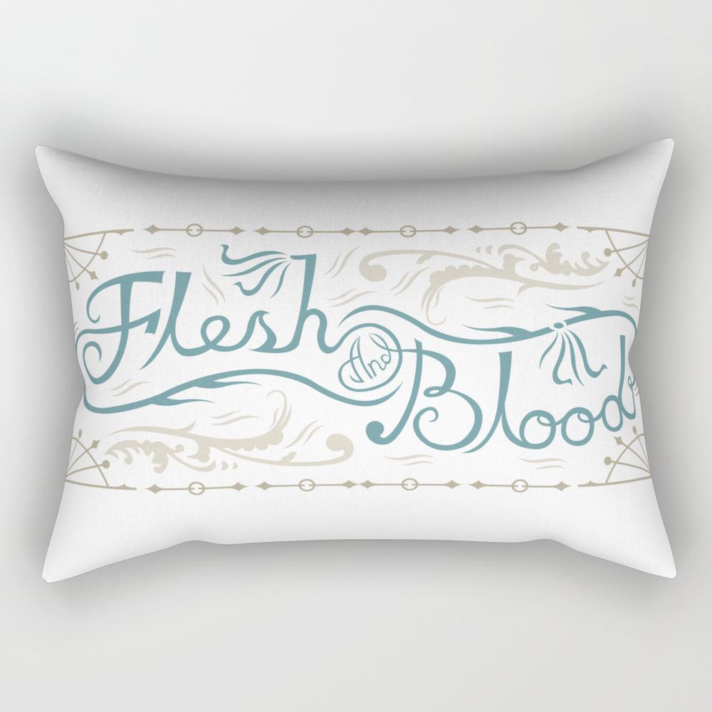 Flesh And Blood Rectangular Pillow RPW933319