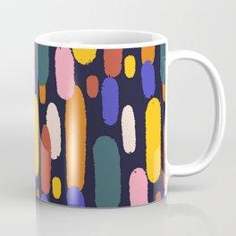 Abstract Multicolor Brushstrokes  Coffee Mug