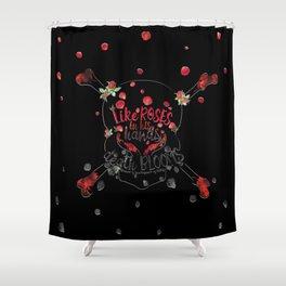 Illuminae - Death Like Roses Shower Curtain