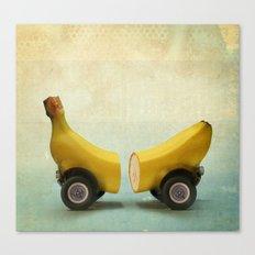Banana Splitmobile Canvas Print