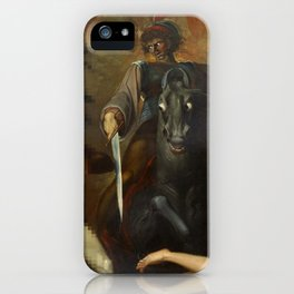 Modern Triptych: Digital Theodore meets the Spectre iPhone Case