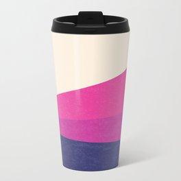 Stripe IV Violet Ray Metal Travel Mug