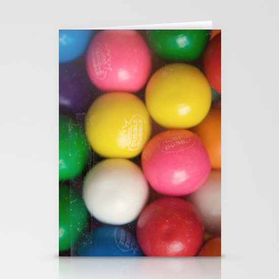 Gumballs Stationery Cards