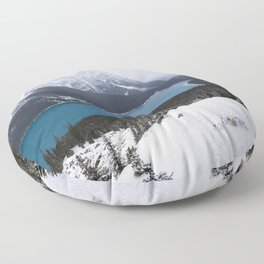 Peyto Lake Floor Pillow