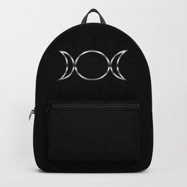 Triple Goddess Symbol Backpack