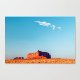 A Ghost Is Born - Monument Valley Canvas Print