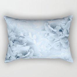 Light Blue Peonies Dream #1 #floral #decor #art #society6 Rectangular Pillow