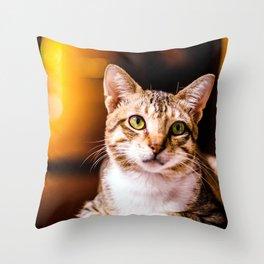 Nekorama Throw Pillow
