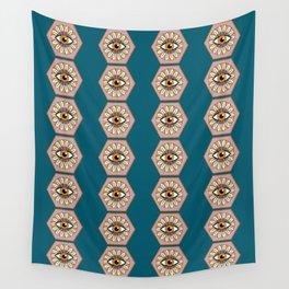 Petals & Pupils  Wall Tapestry