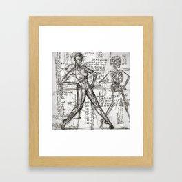 Clone Death - Intaglio / Printmaking Framed Art Print