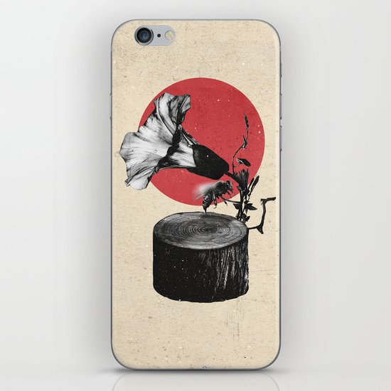Gramophone iPhone & iPod Skin