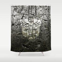 Autobot steel Shower Curtain