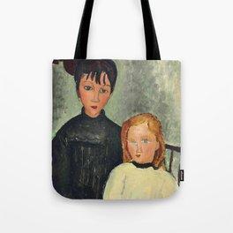 "Amedeo Modigliani ""Les deux filles"" Tote Bag"