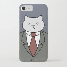 Business Cat Slim Case iPhone 7