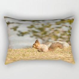 Squirrel's Lunch Break #decor #society6 Rectangular Pillow