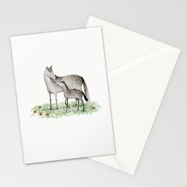 Mare & Foal Stationery Cards