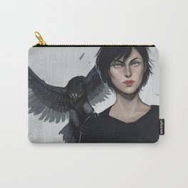 Two Hawks Carry-All Pouch
