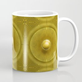 Golden Sunrise Pattern Coffee Mug