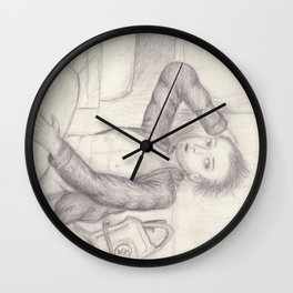 Center Fold— Chain Saws Add to Sexy Wall Clock