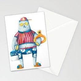 Summertime Bears // Papa Bear Stationery Cards