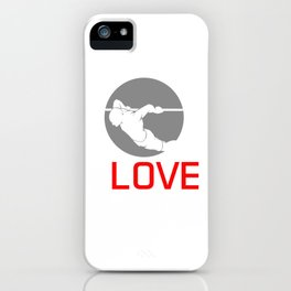 Standing Pushing Gymnastics Vaults Climb Up I Love Korean Dips Fitness Workout Gift iPhone Case