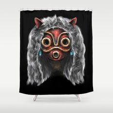 The Wolf Princess Shower Curtain