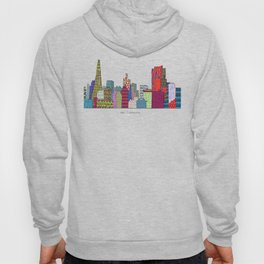 San Francisco city skyline Hoody