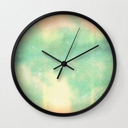 Part of the sky in a circle Wall Clock