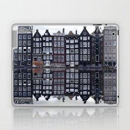 Amsterdam houses 1. Laptop & iPad Skin