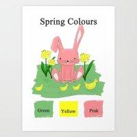 Children Season Poster Art Print