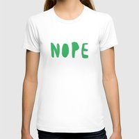 nope T-shirts featuring nope by agata krolak