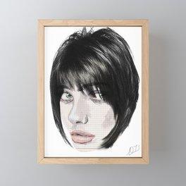 Maschietta two Framed Mini Art Print