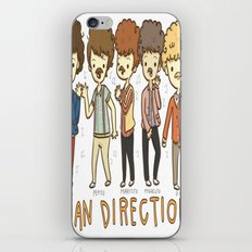 Juan Direction One Direction Cartoon iPhone & iPod Skin