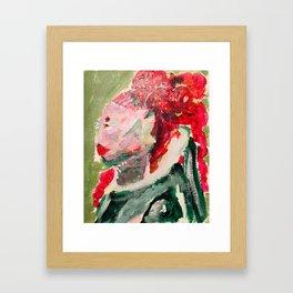 Shapely Framed Art Print
