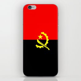 angola country flag iPhone Skin