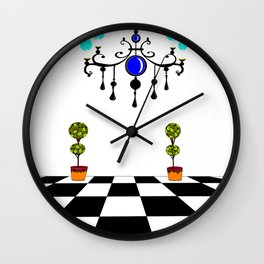 A Chandler and Topararies without mirrors Wall Clock