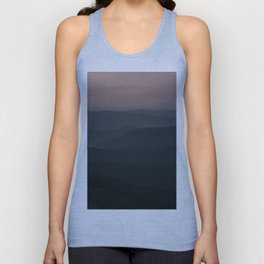 Mountain Waves - Landscape and Nature Photography Unisex Tank Top