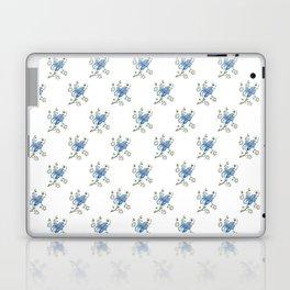 Stylised Flower Pattern Laptop & iPad Skin
