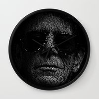 transformer Wall Clocks featuring LOU REED, SO FREE. by Robotic Ewe