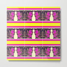 Pink Warrior (Number 11) Metal Print